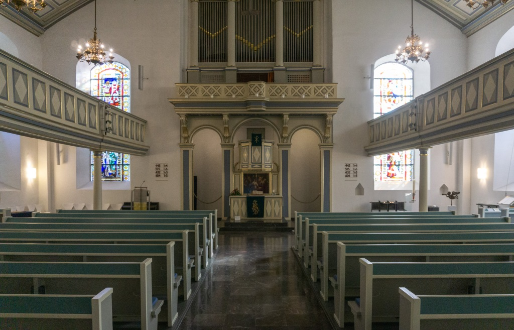 Innenraum St. Georgskirche Hattingen