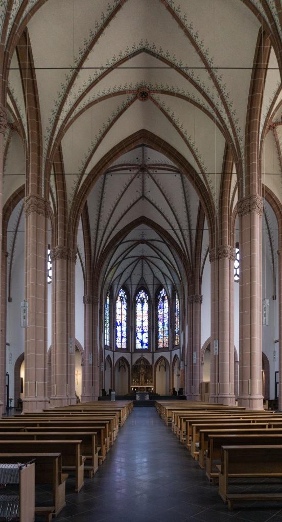 Innenraum Agneskirche Köln