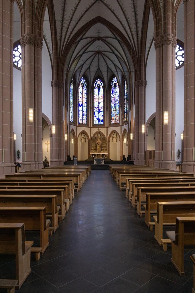 Innenperspektive Agneskirche Köln
