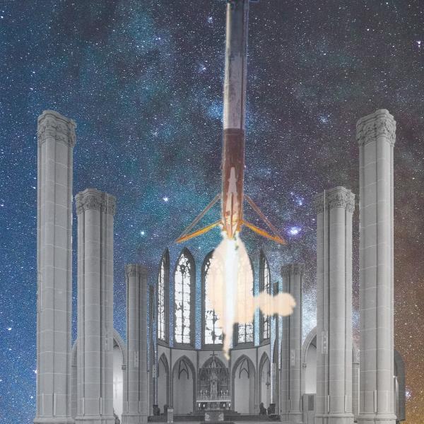 Raketenstart in der Agneskirche Köln Kirchenumnutzung Kirchenarchitektur Zukunft