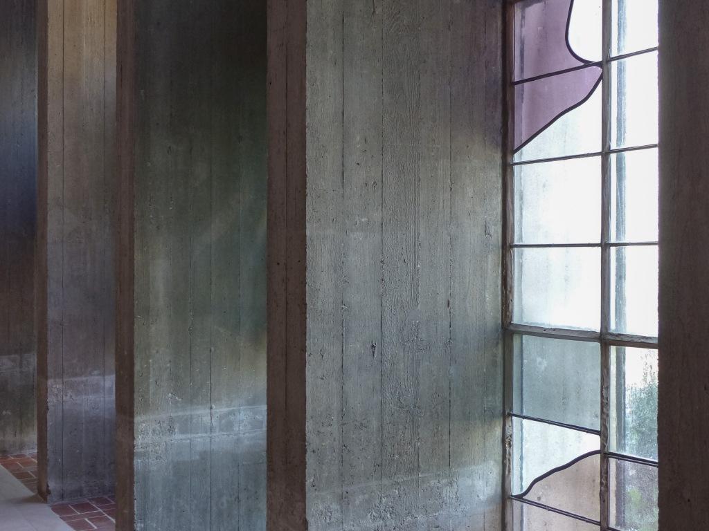 Franziskuskolumbarium Wesel Kirchenumnutzung Detail Lichteinfall und Materialität