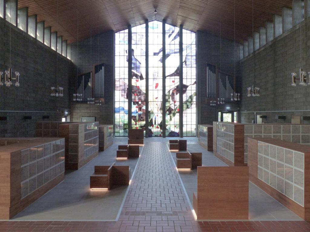 Franziskus-Kolumbarium Wesel Kirchenumnutzung Beispiel
