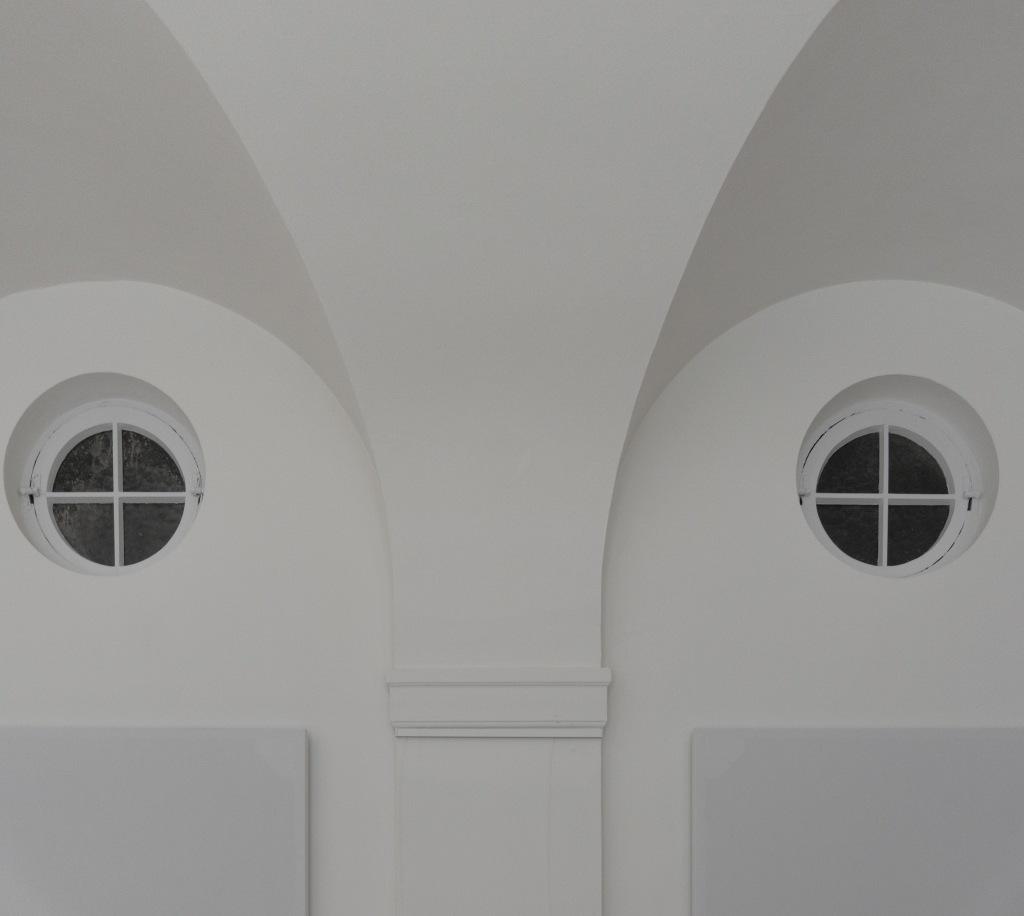 Klarissenkloster Köln Kirchenumnutzunghistorische Fenster im Quadrum