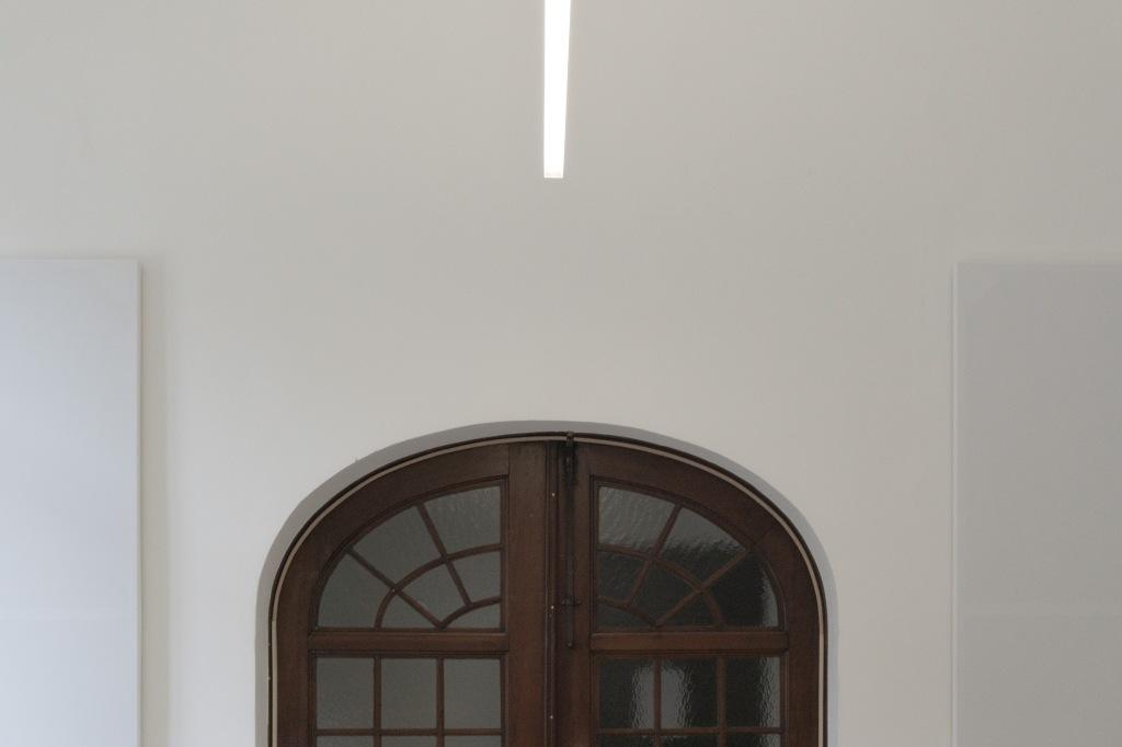Klarissenkloster Köln Kirchenumnutzung Quadrum Beleuchtung Fenstertür
