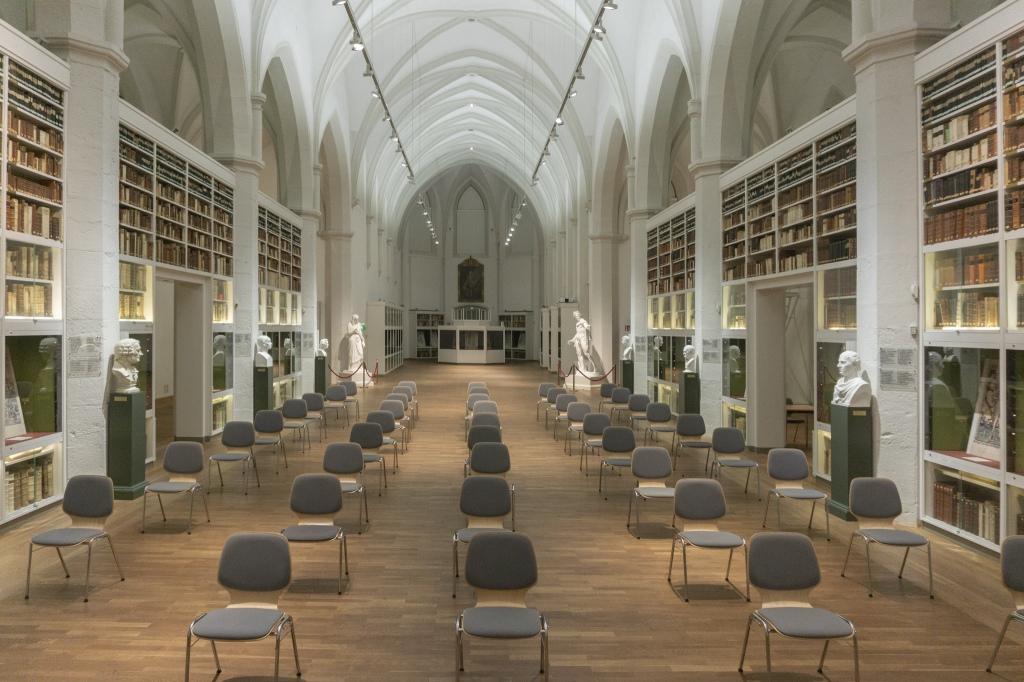Paulinerkirche Göttingen Universität Bibliothek Umnutzung